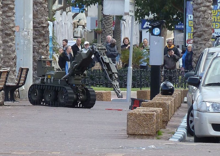 BOMB robot dallas shooting