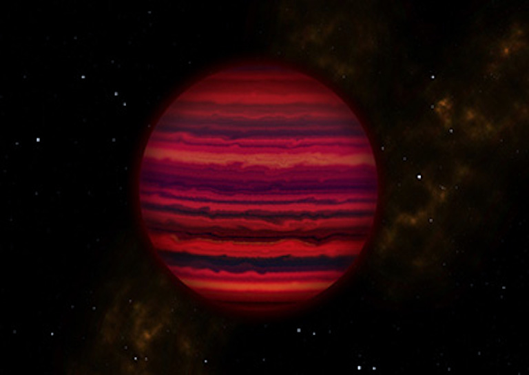 WISE cloud planet