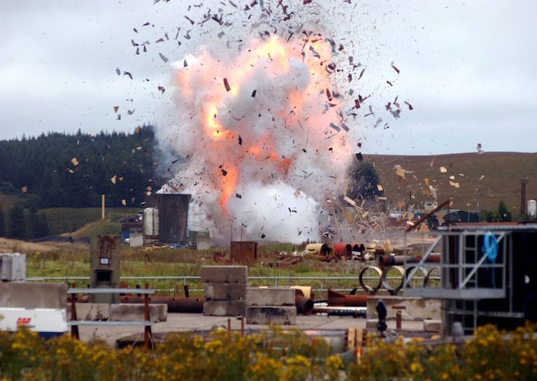 explosive loading