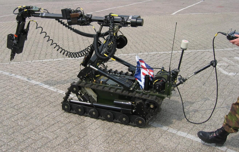 explosive robots