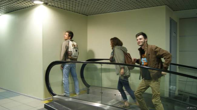failed escalator