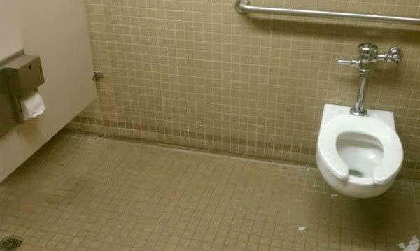 long toilet stall