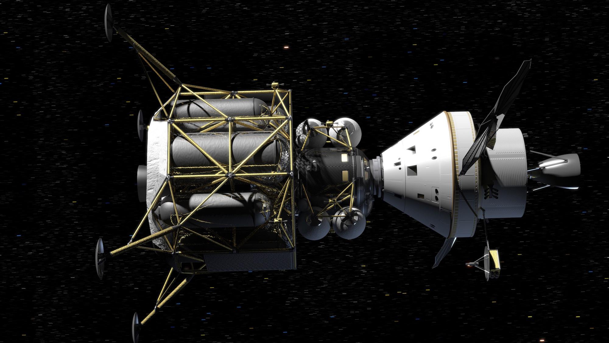 lunar lander craft