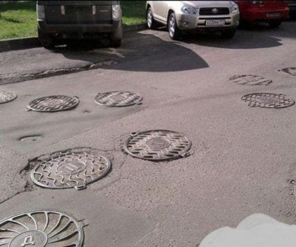 manhole heaven