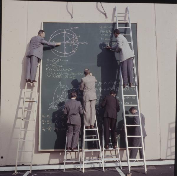 nasa chalkboard