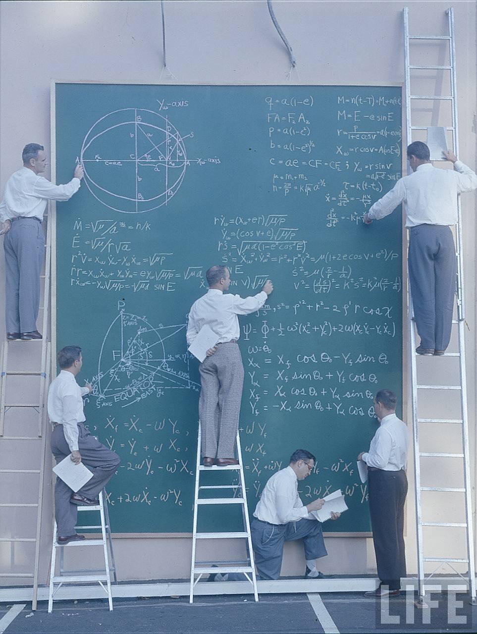 old school NASA calculations