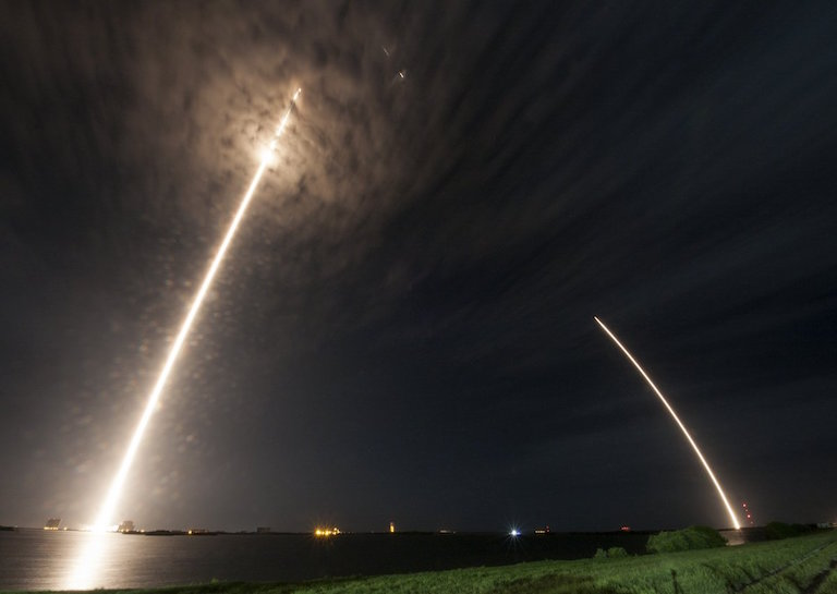 spacex launch timelapse
