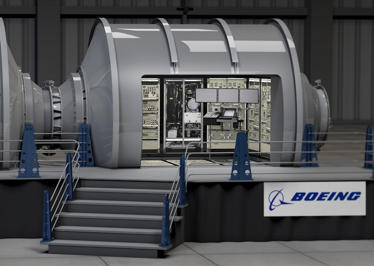 boeing space shelter