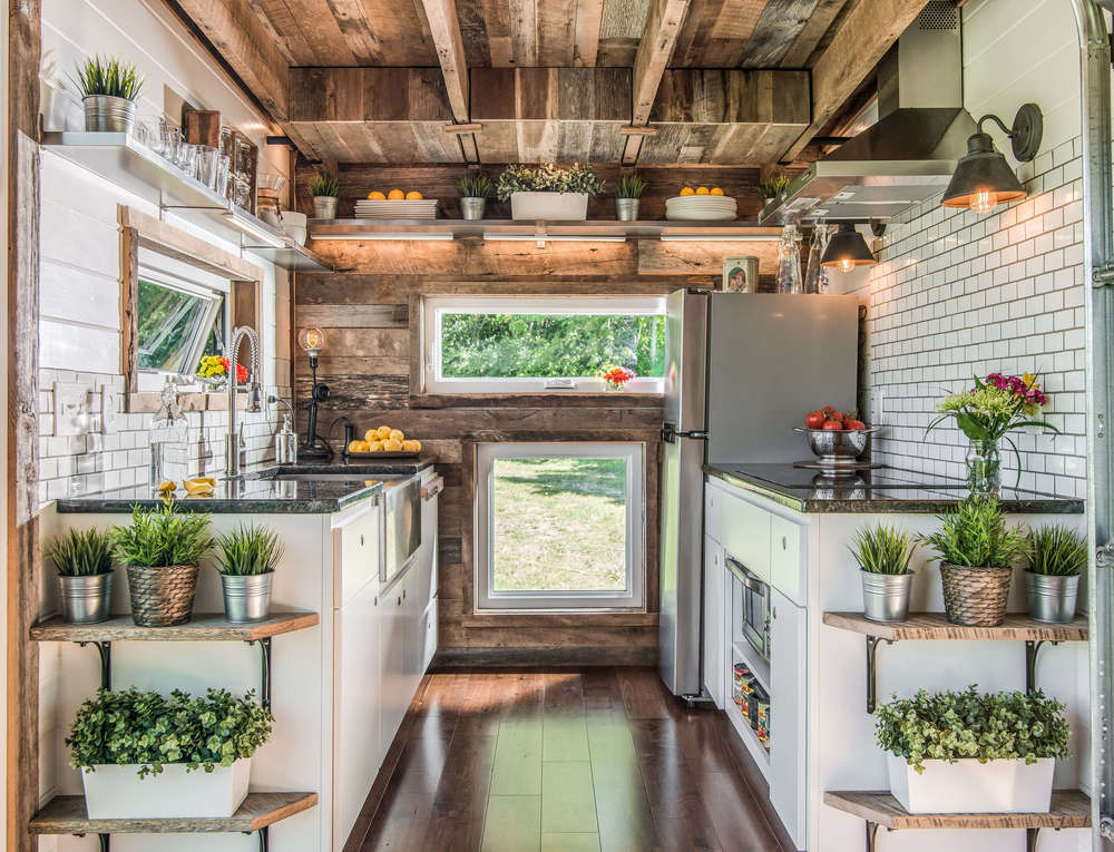 inside tiny home