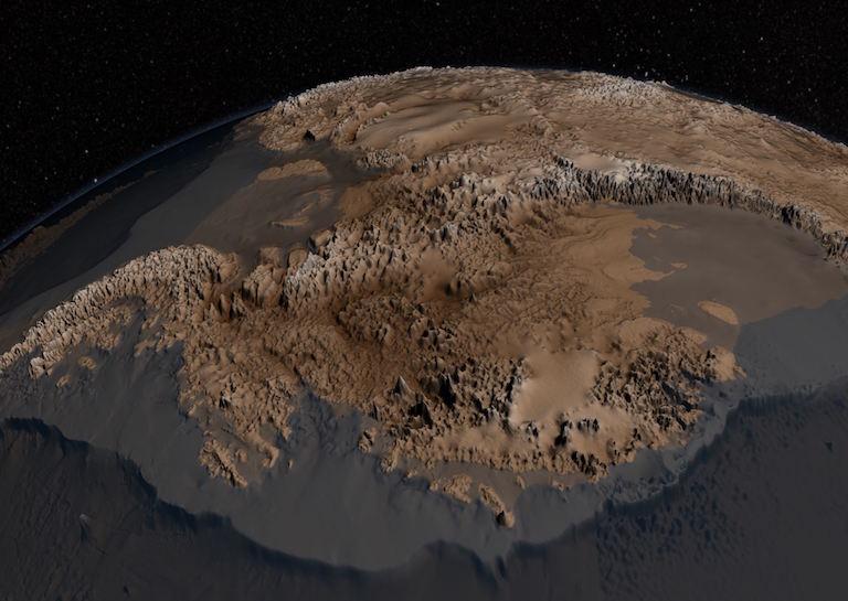 mars ridges