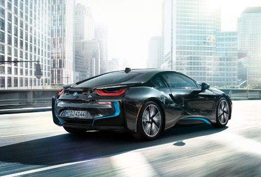 rear cab of i8
