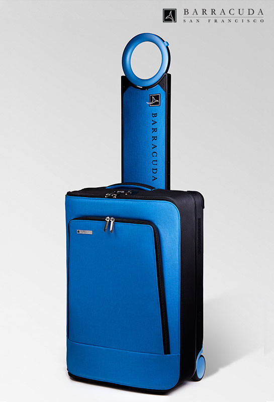 solo blue luggage