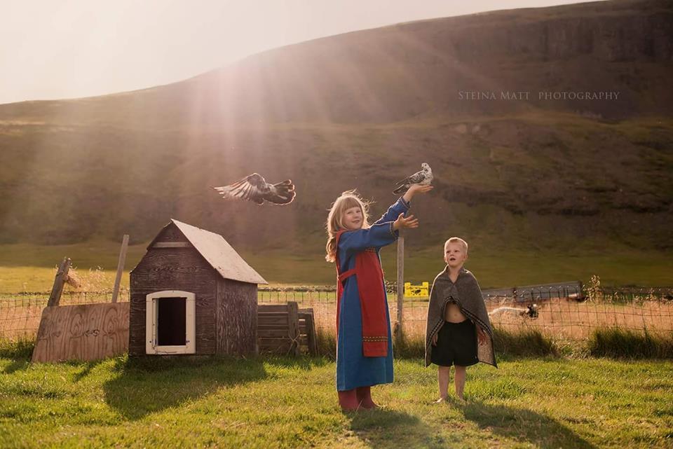 Hólar farm minizoo in Iceland