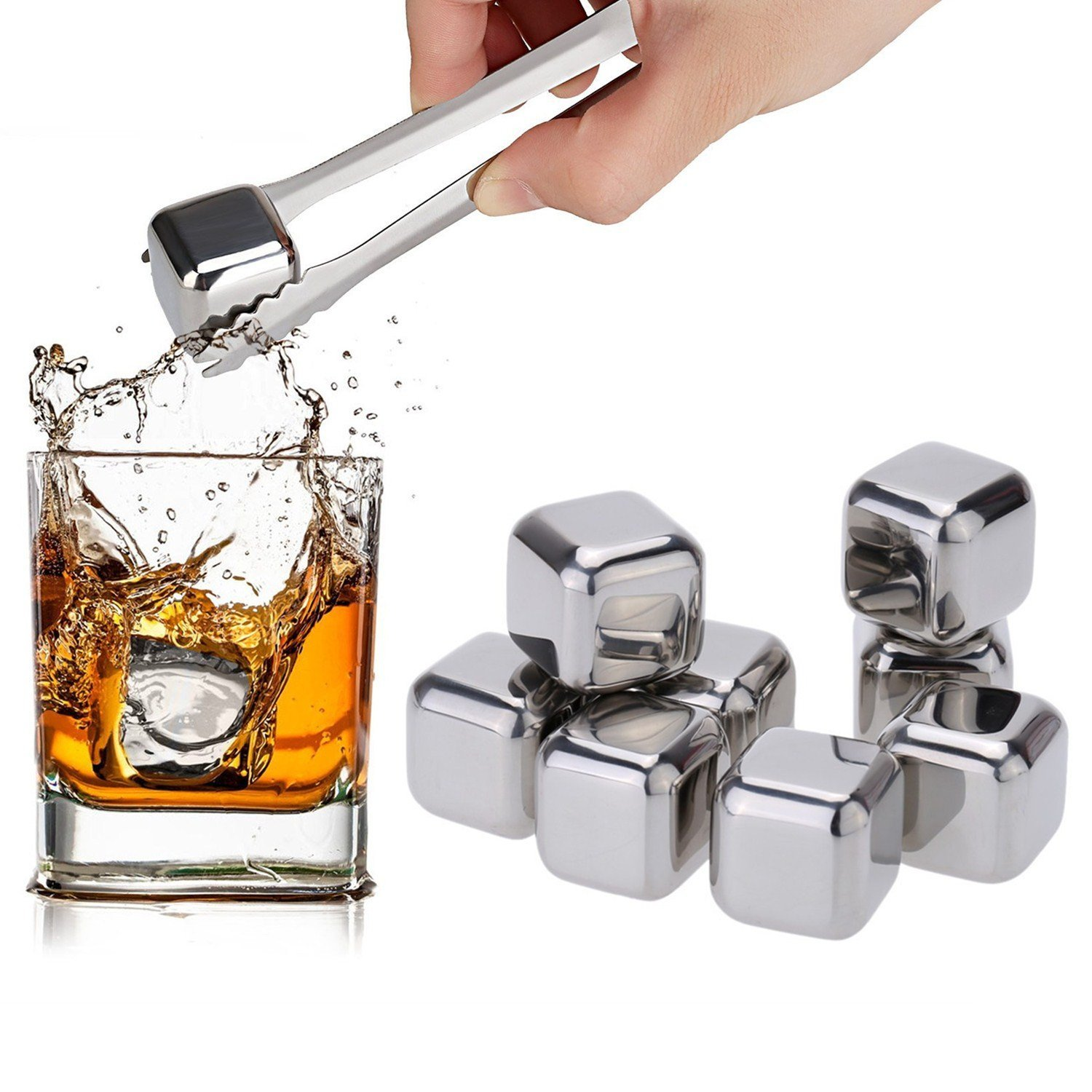 kitchen-tools-amzdeal-whiskey-stones-reusable-wine-ice-cubes-with-tongs
