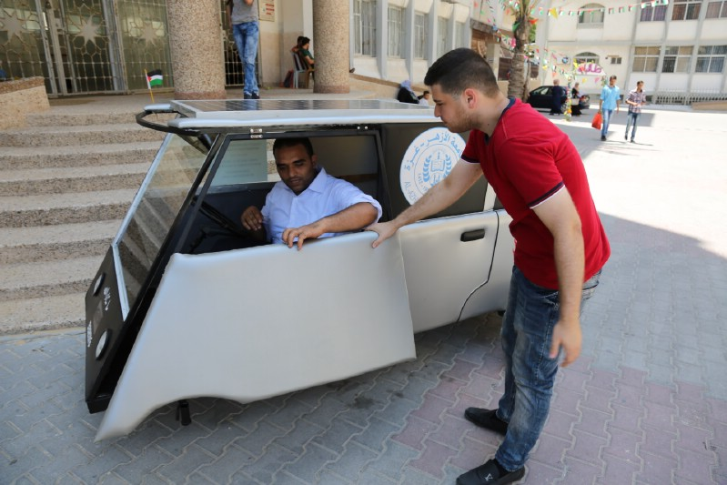 solar car of palestine
