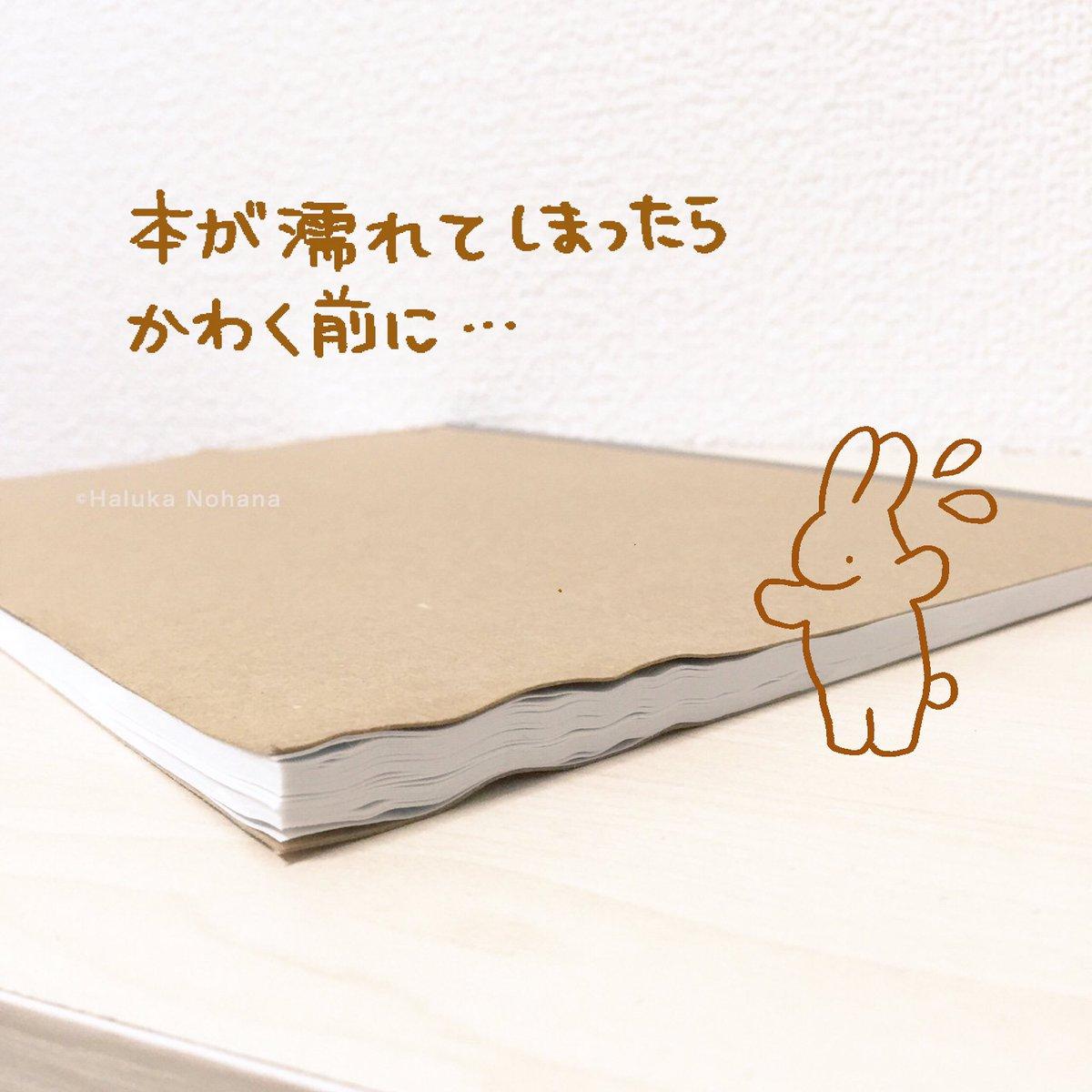 haruka-nohana-diy-fix-wet-book-pages-4