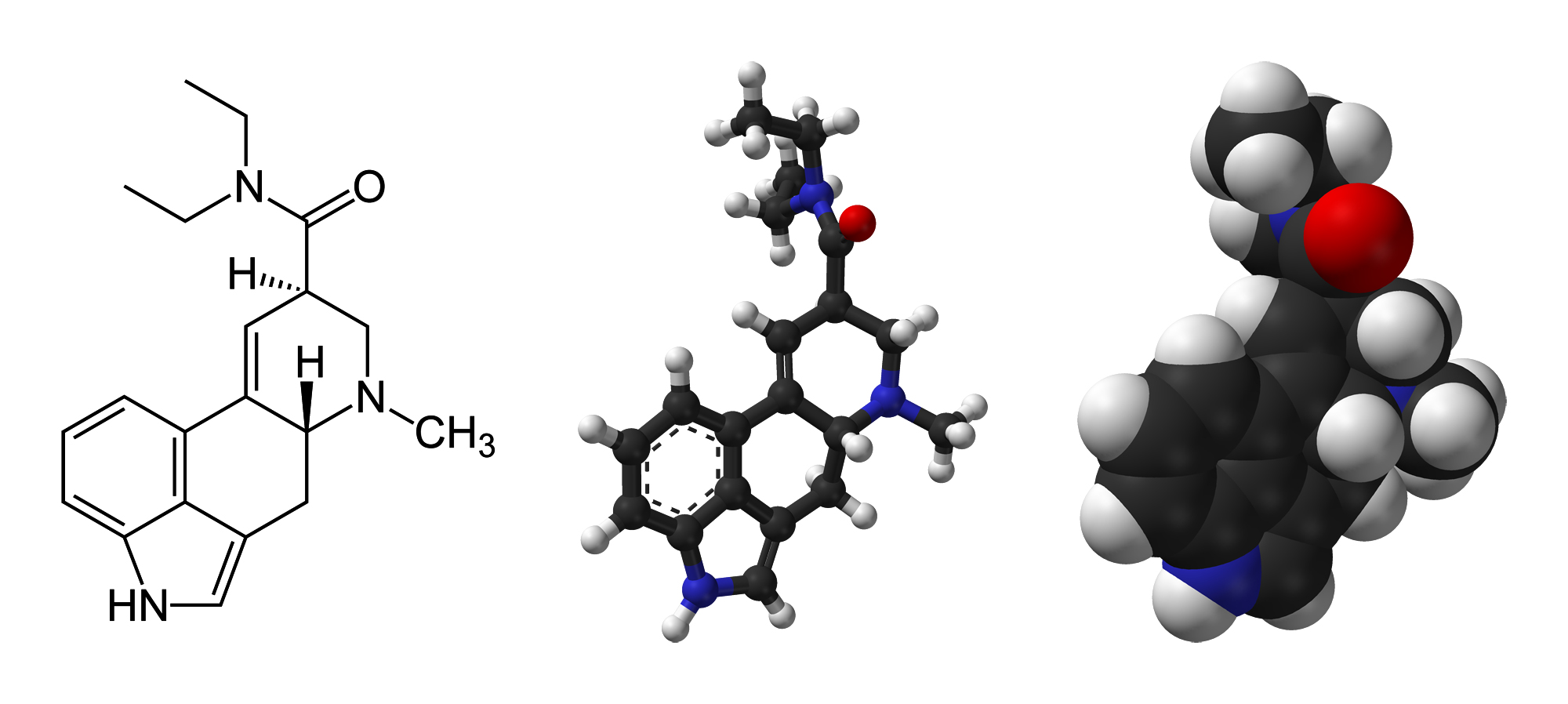 lsd-2d-skeletal-formula-and-3d-models