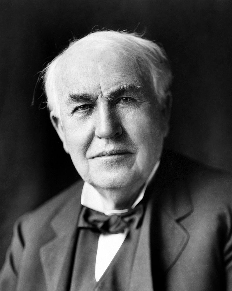 light bulb inventor edison
