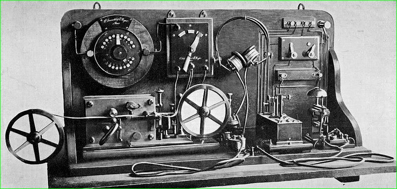 invention of telegraph transmitter