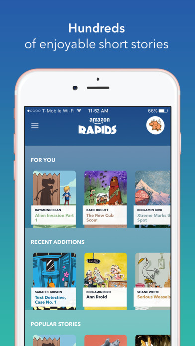 Rapids iTunes app