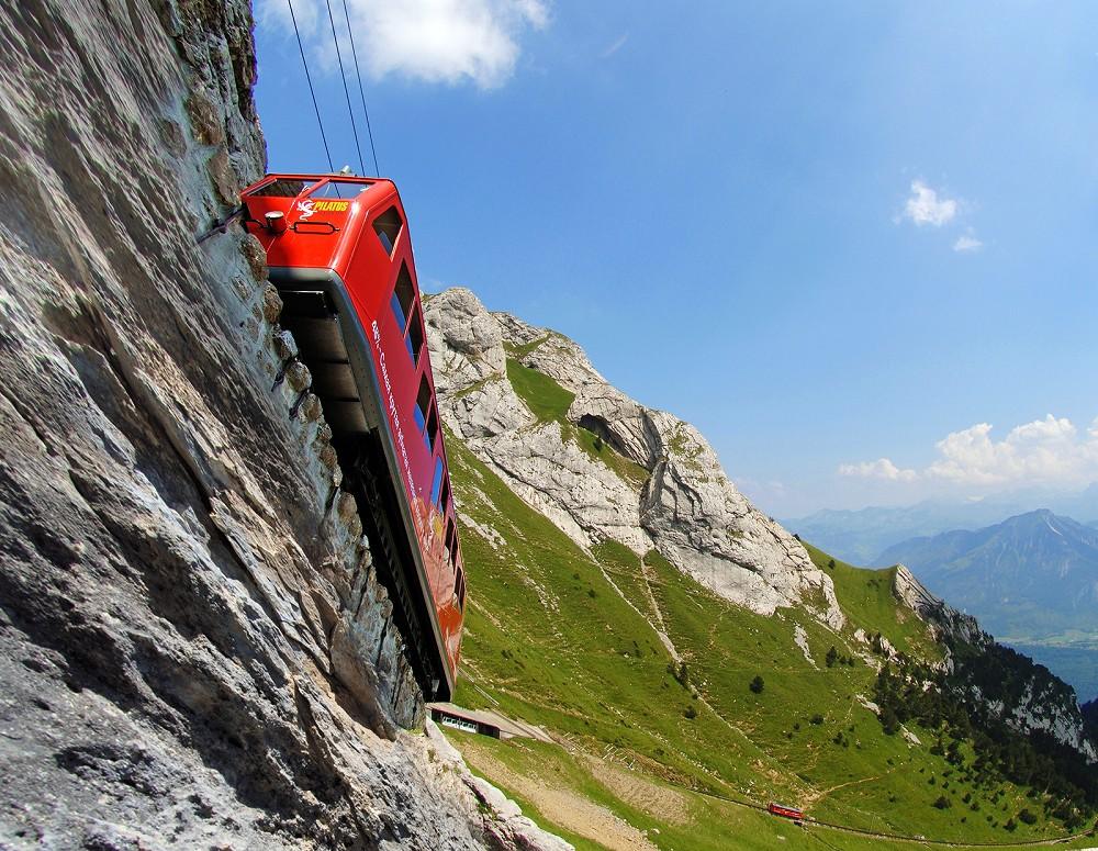 Discover the World's Steepest Cogwheel Railway