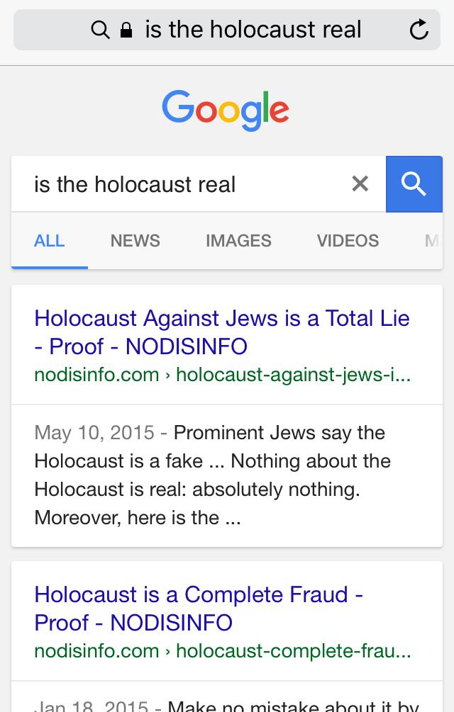 Google Tweaks Algorithm to Bury 'Non-Authoritative Information'