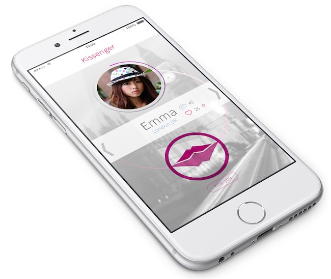 Kissenger: The First Mobile Kiss Messenger