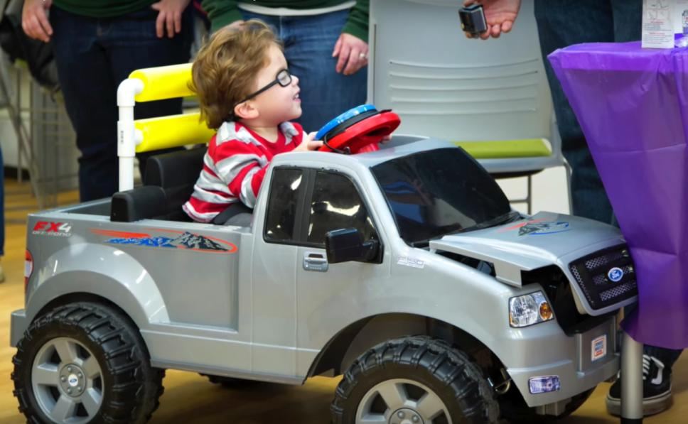 Engineering Students Make Cars for Kids with Limited Mobility