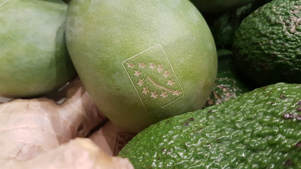 The Organic Version of Laser Marking is Replacing Sticky Labels
