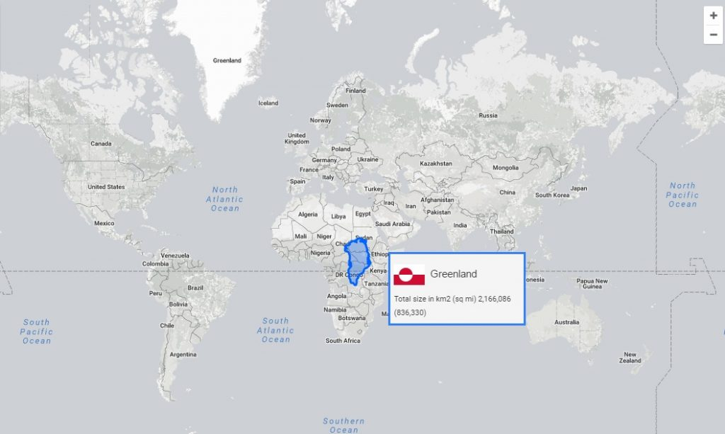 You Can Find Out the True Size of Any Country With This New App