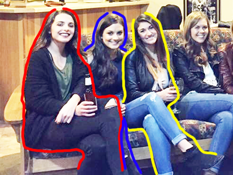 The Internet Is Trying To Solve This Optical Illusion Of Six Girls With Only 10 Legs