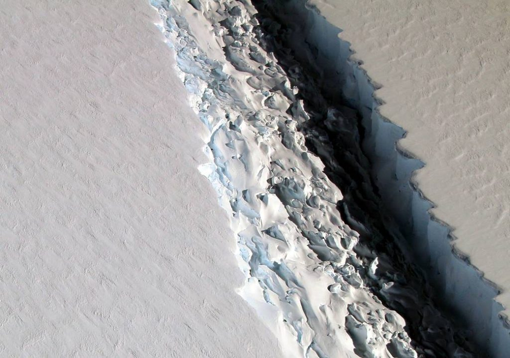 An Iceberg the Size of Delaware is About to Break off from Antarctica
