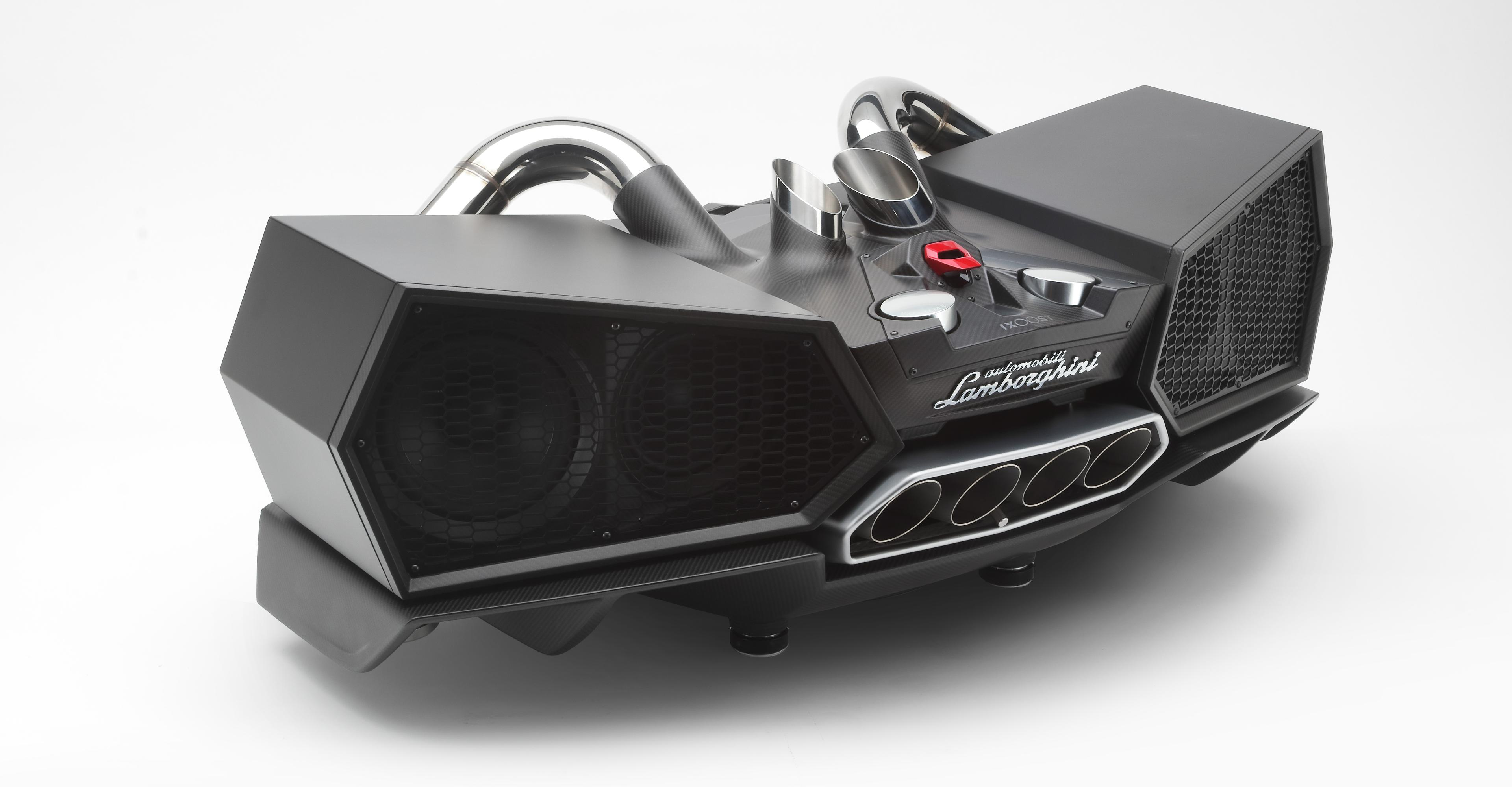 EsaVox: A Lamborghini-Infused Audio System