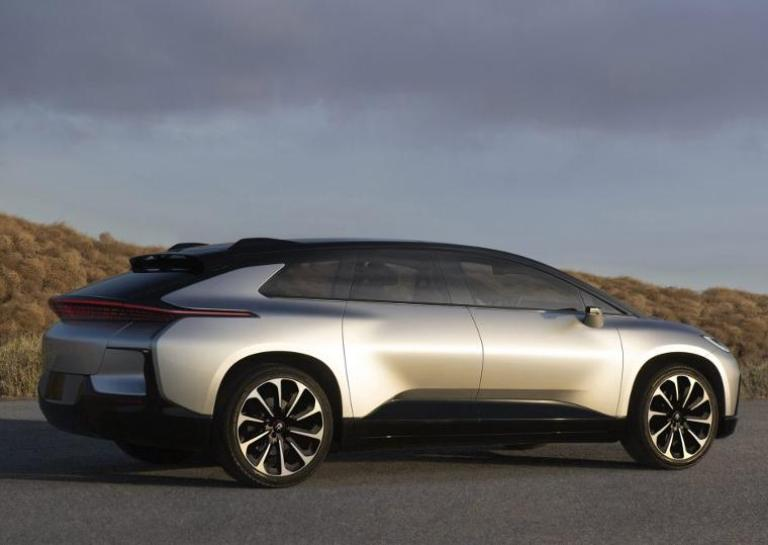 Faraday Future Shows Off in Debut to Rival Tesla