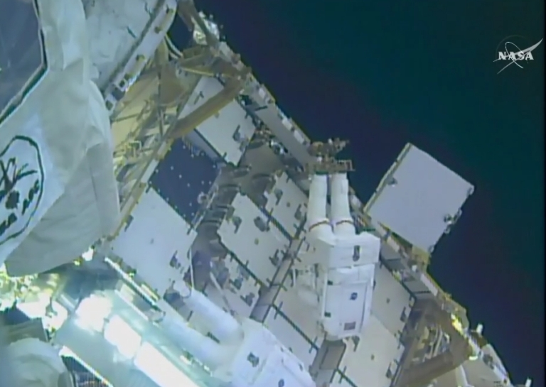 Time for a Charge: International Space Station Gets First New Battery in 18 Years