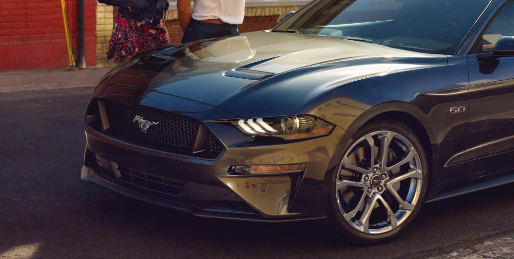 New 2018 Ford Mustang Gets an Interesting Facelift