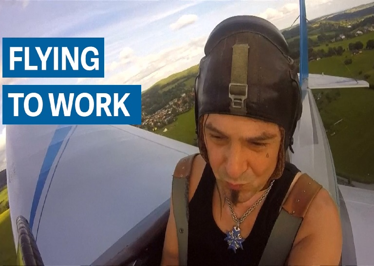 Locksmith Builds His Own Aircraft To Cut His Commute By Seven Minutes