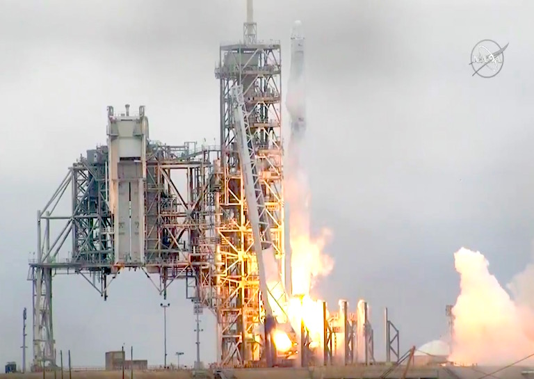 SpaceX Successfully Launches Rocket from NASA's Historic Moon Pad