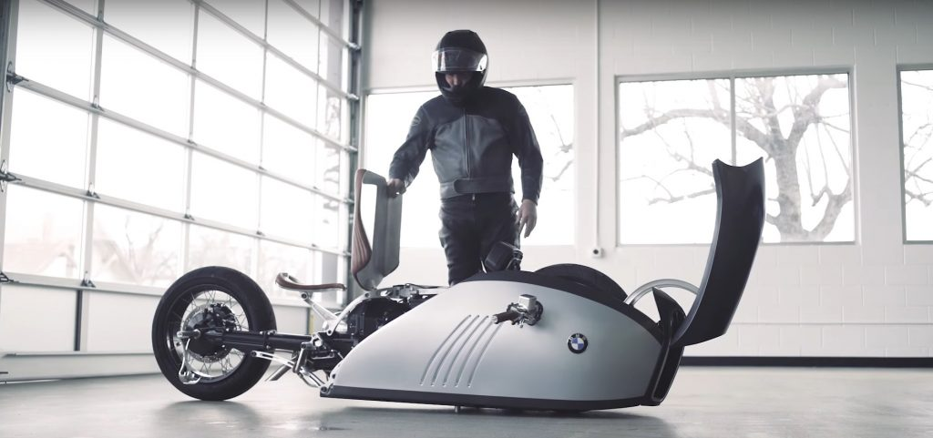 This Concept BMW Alpha Bullet Bike Is Inspired by the Great White Shark