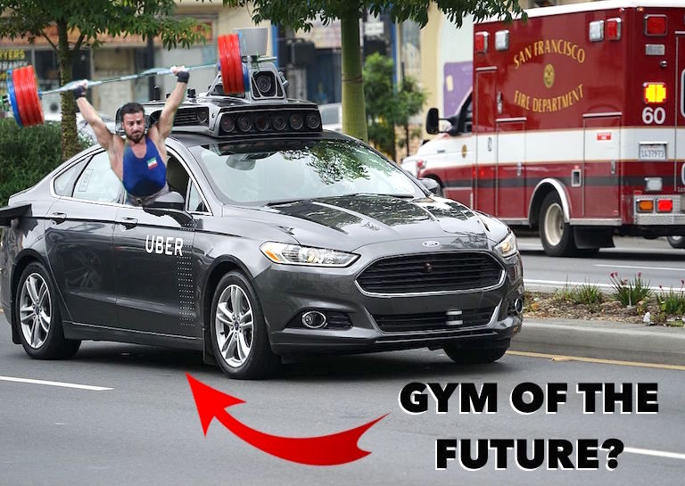 Will Cars of the Future be Gyms on the Go?