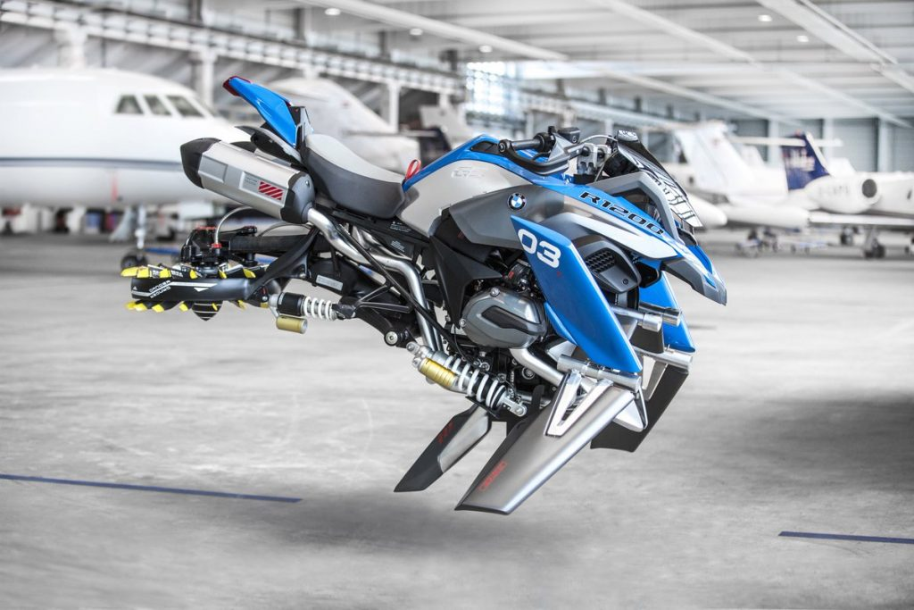 BMW Motorrad Debuts Its LEGO-Inspired Hover Ride