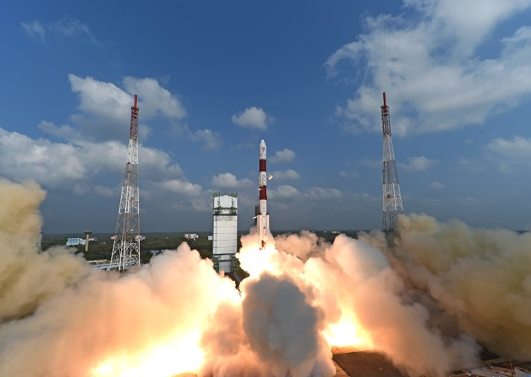 India Breaks Record After Launching 104 Satellites on One Rocket