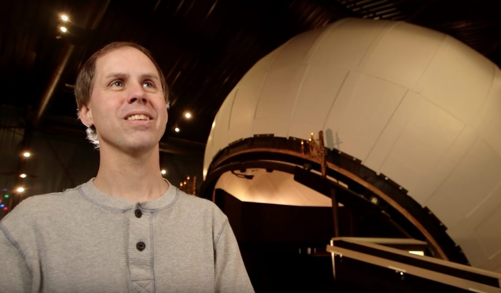 Man Builds the World's Largest Rolling, Mechanical Planetarium in His Backyard