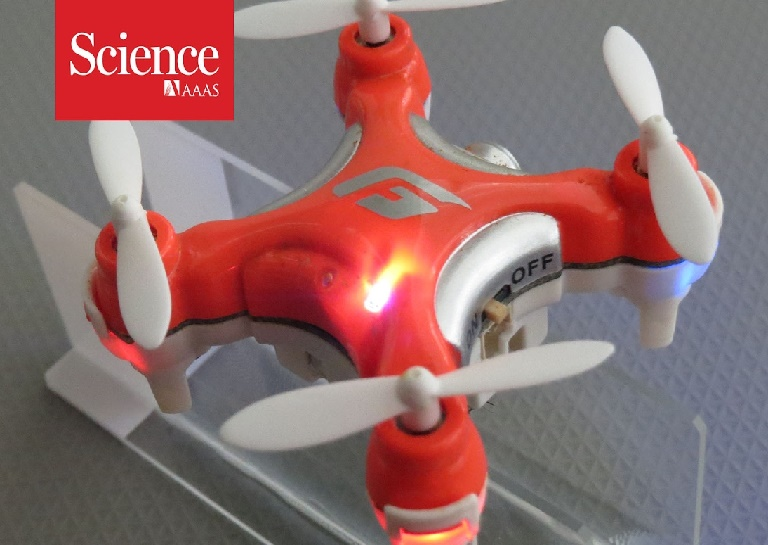 Scientists Develop Drones to Pollinate Plants Just Like Real Bees