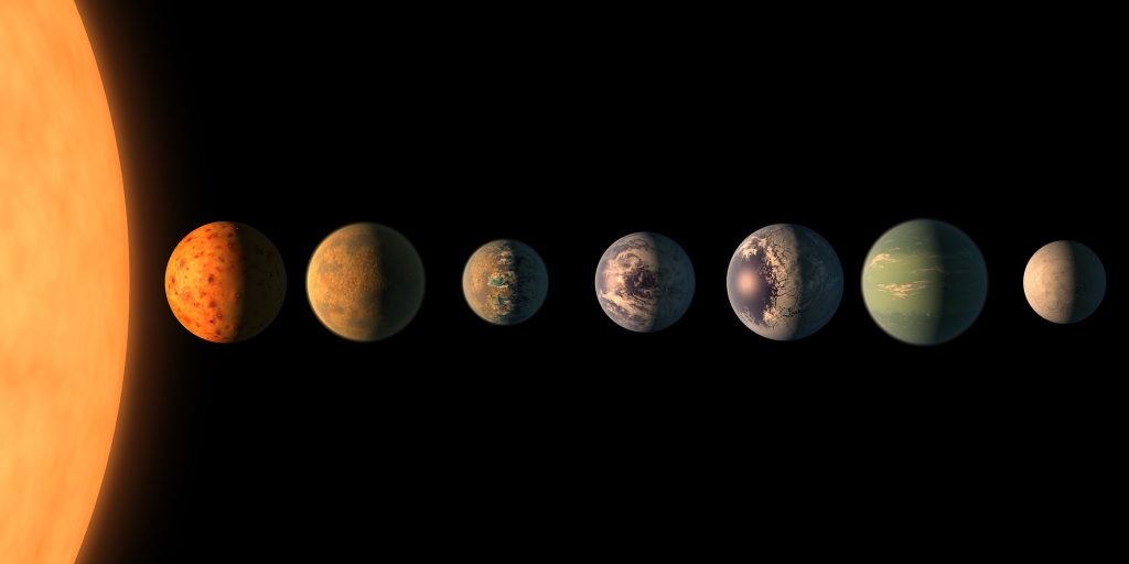 NASA Asks for Help to Name 7 New Planets and the Internet Delivers