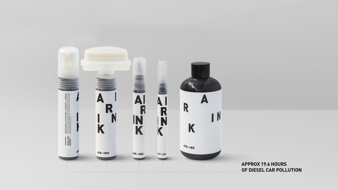 This Incredible Device Can Turn Air Pollution into Usable Ink