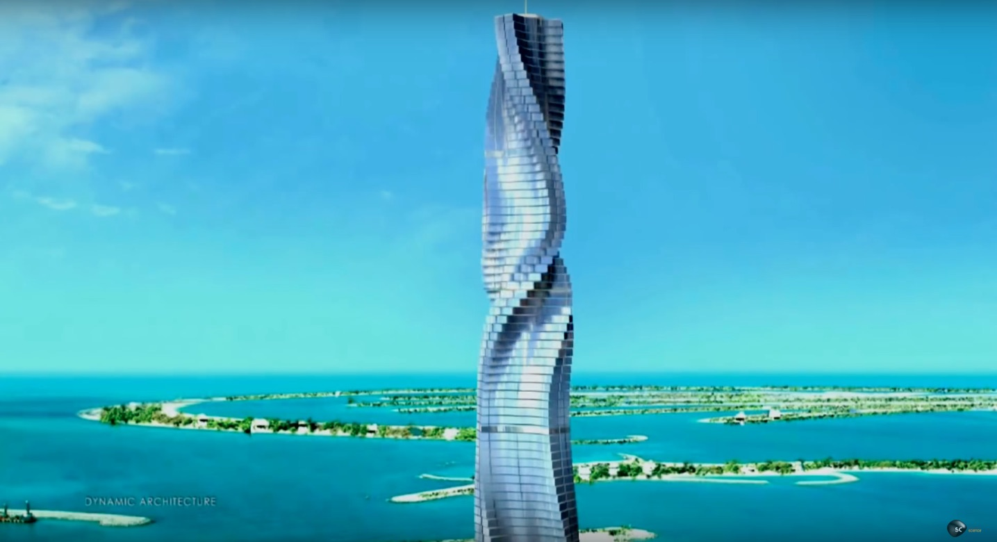 Dubai to Add the World's First Rotating Skyscraper to Its Skyline by 2020