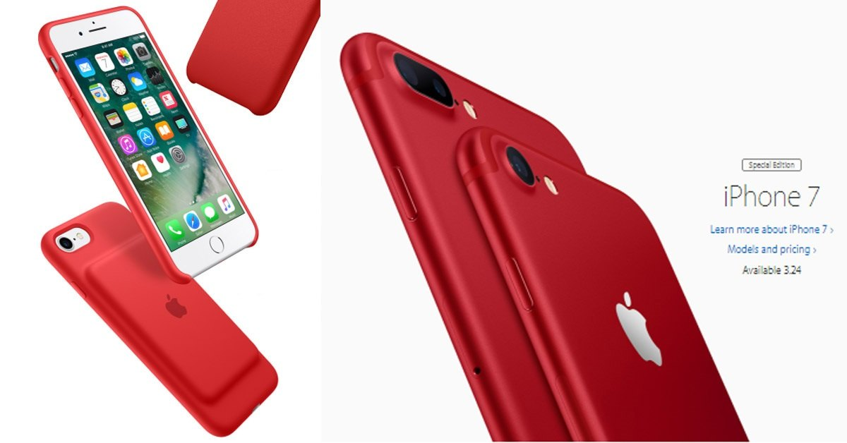 Apple Just Introduced A Special Edition Red iPhone to Help Fight AIDS