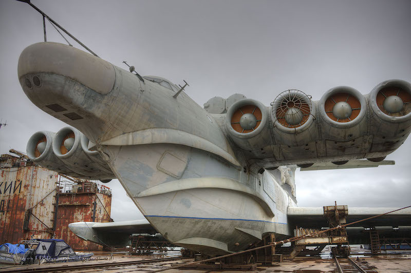 Here's a Closer Look at the Soviet Navy's 1987 Lun-Class Ekranoplan