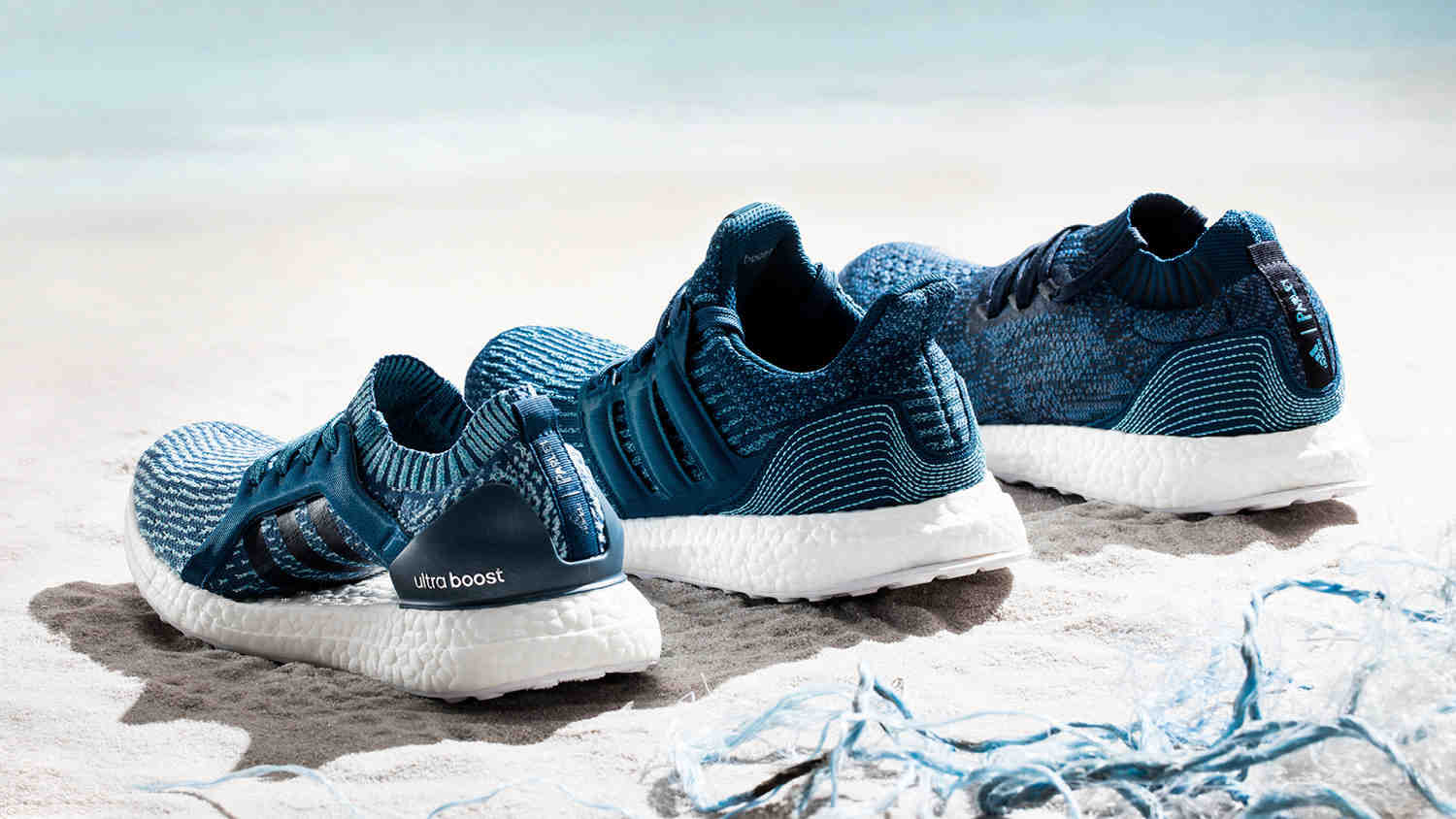 The Adidas Parley UltraBOOST, UltraBOOST X and UltraBOOST Uncaged collection